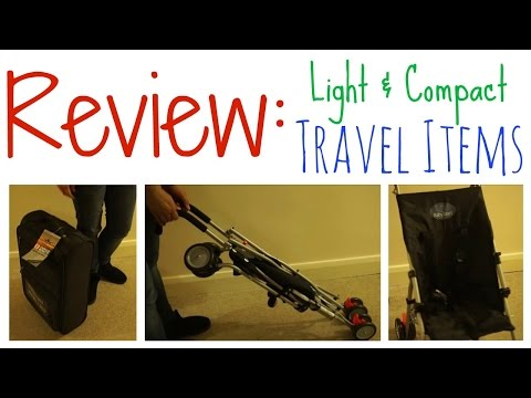 Compact Stroller & Cabin Luggage Review & Demo   BabyStart   Enrico Benetti   K's Mum