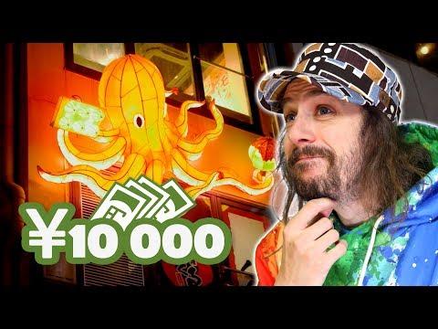 10 000 Yens à Osaka