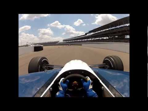Brent Lachelt drives an Indy Car at  the Indianapolis Motor Speedway, Indy Experience.wmv