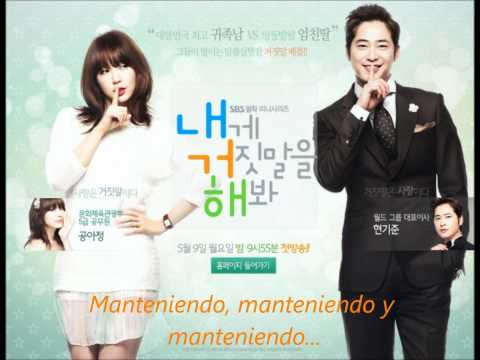 Lie to me OST Shameless lie - Heo Gayoon [Sub. Español]