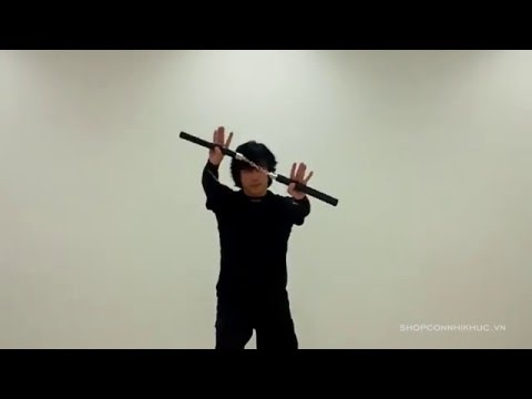 Bài tập côn nhị khúc cơ bản - phong cách Lý Tiểu Long - shopconnhikhuc.vn