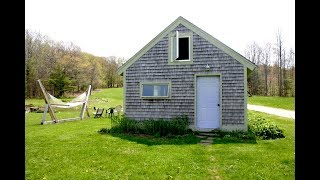 Stay In This Sweet Tiny Maine Guest Cabin