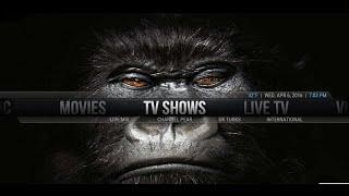 GORILLA TV - Installing on KODI / XBMC - Lots of great add ons