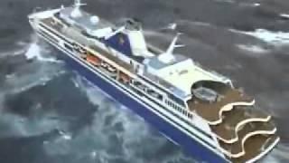 嵐の中の豪華客船 thumbnail