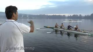 Exercise for balancing the boat