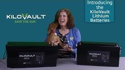 KiloVault Solar Lithium Batteries