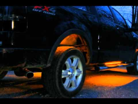 Wired Ridez - 2006 Ford F150 Custom LED Lighting - YouTube