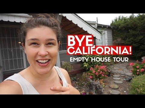 BYE, CALIFORNIA! 🏡 Hayward Empty House Tour