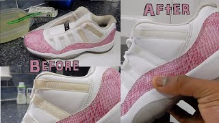 How To Clean Upper Part Of Jordan 11s Using RIT Product