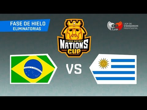 BRASIL x URUGUAI - CR Nations Cup   Eliminatorias Mundial de Clash Royale - BRUNO CLASH