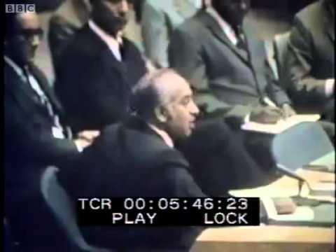 ذوالفقار علی بھٹو---ایک عظیم لیڈر--اُن کا جوش تقریر دیکھیے--- اقوام متحدہ- اسمبلی سے خطاب