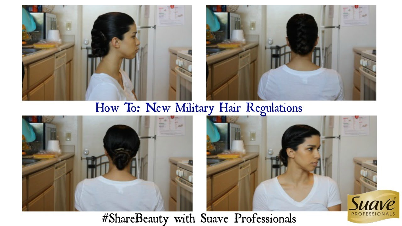 HOW TO New Military Hairstyle Regulations With Suave And - Army hairstyle regulation