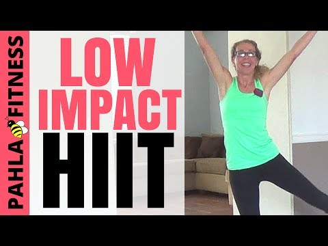 LOW IMPACT Progressive CARDIO HIIT | 30 Minute Full Length Fat Burn Home Workout without Jumping