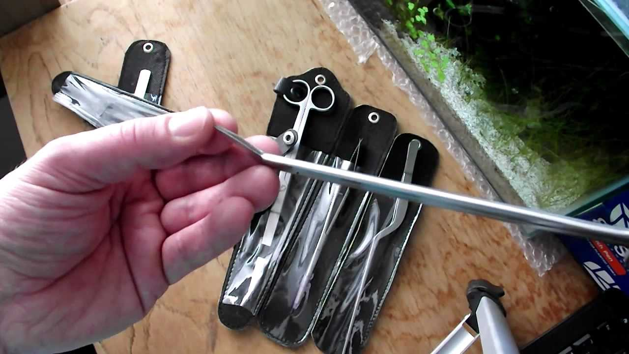 Aquascaping Tools For Planted Aquariums From AquariumPlantFood.co.uk    YouTube