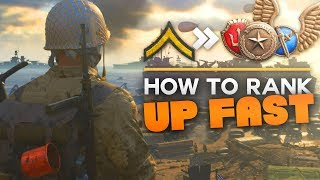 Here's The 9 BEST WAYS TO RANK UP FAST In COD WW2!