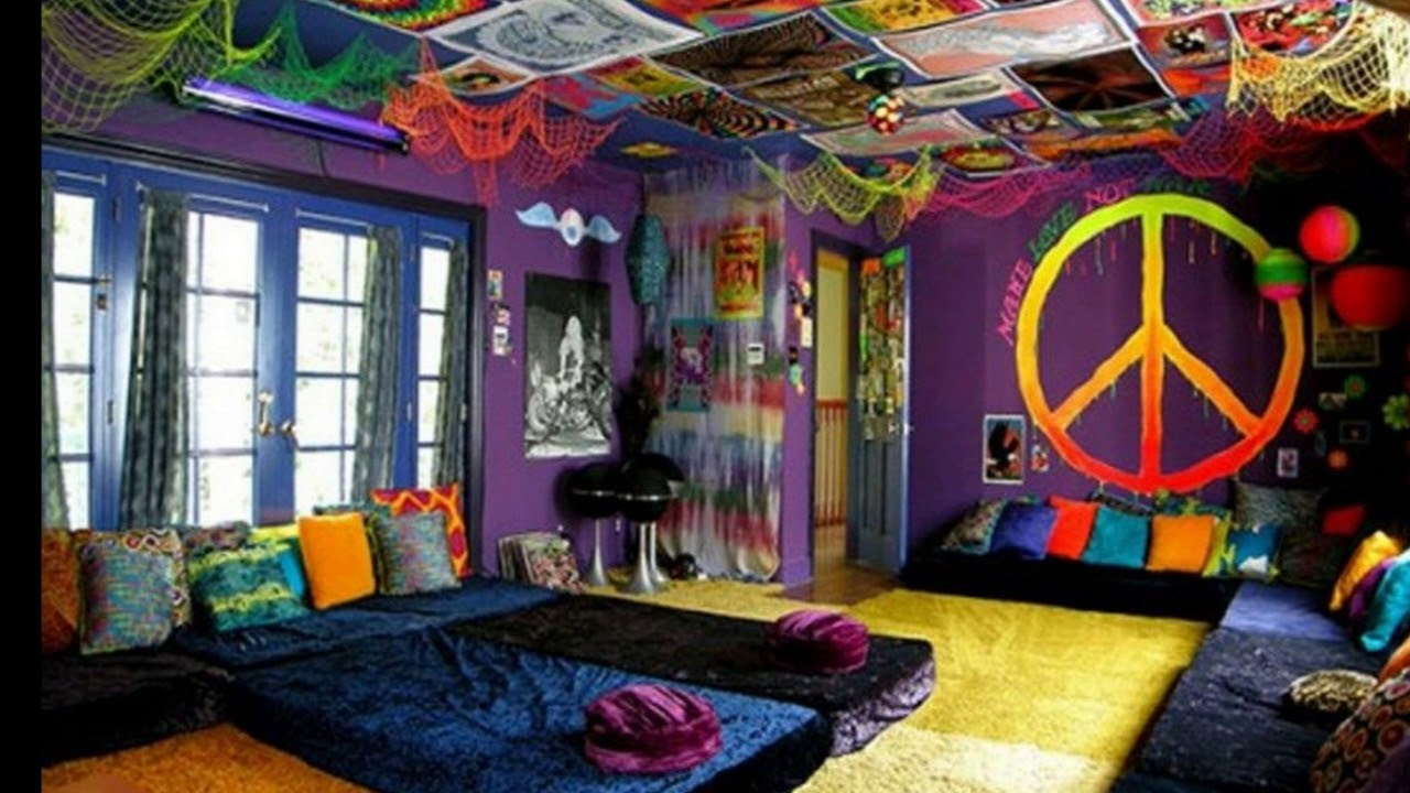 Hippie Apartment Decor Home Design