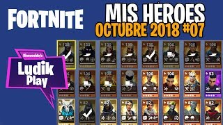 #07 MY OCTOBER HEROES (FIELD AGENT, REAP) FORTNITE SAVE THE WORLD SPANISH GUIDE