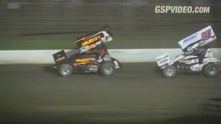Grandview Speedway ASCoC 410 and TSRS 305 Sprint Car Highlights