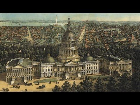 Vintage Map of Washington D.C. (1871)