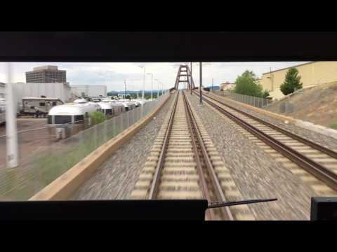 Denver RTD Light Rail W Line From Golden to Denver Union Station Full Ride