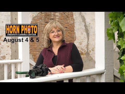 Horn Photo Portrait and Lightroom Class