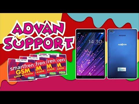 Advan Hape Online ini di bundling kartu Indosat, bisa buat whatsapp, google map, dan youtube. bisa j.