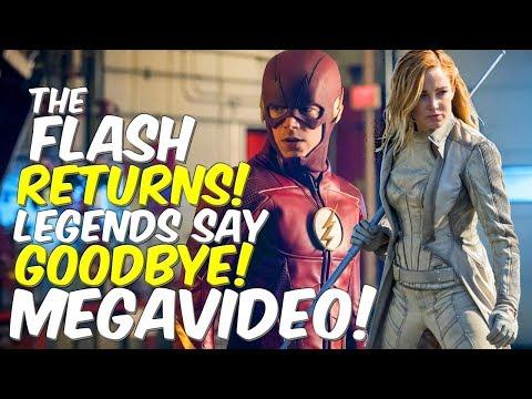 The Flash Returns The Ends Say Goodbye Mega