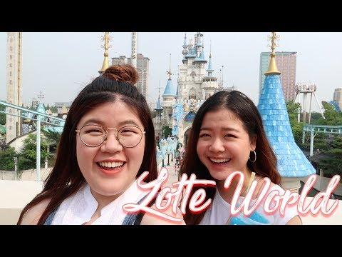 เที่ยวสวนสนุกเกาหลี Lotte World!   jaysbabyfood