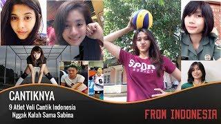 MANTUL!! 9 Atlet Voli Cantik Indonesia, Nggak Kalah Sama Sabina Altynbekova