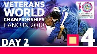 Veterans World Championships 2018: Day 2 - Day 2: Tatami 4