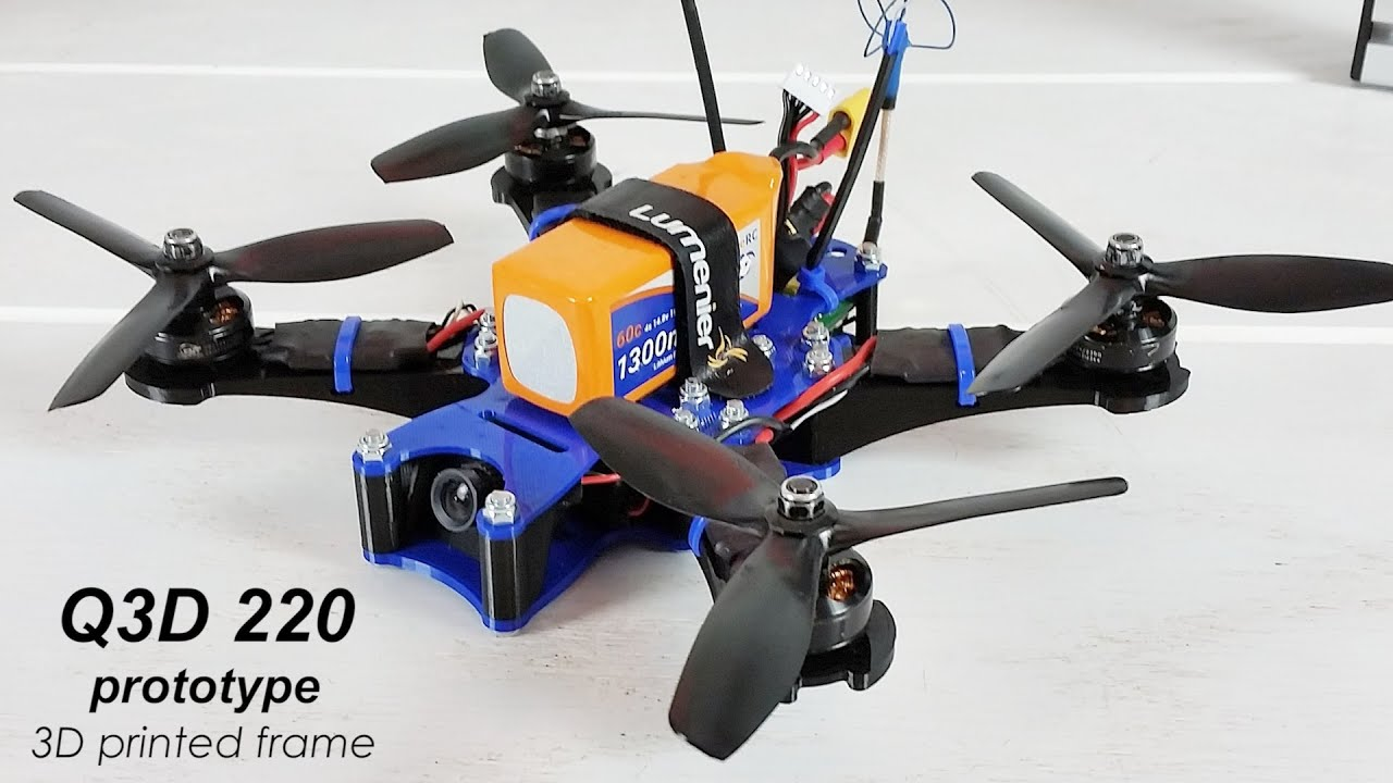 Challenger image regarding 3d printable drone