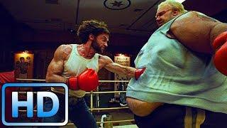 Росомаха против Пузыря на ринге / Люди Икс: Начало. Росомаха (2009)