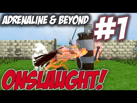 Adrenaline & Beyond | Episode 1 [TESTING SOME ITEMS WITH ONS