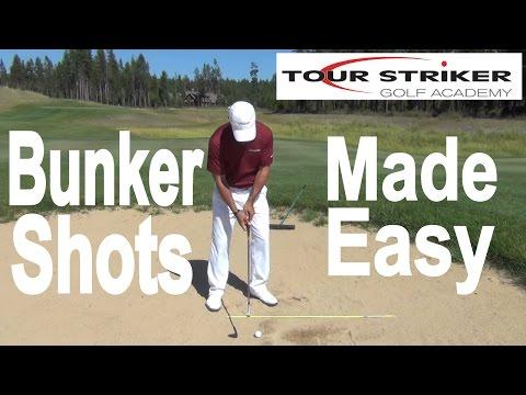 Martin Chuck | Bunker Shots Made Easy | Tour Striker Golf Academy