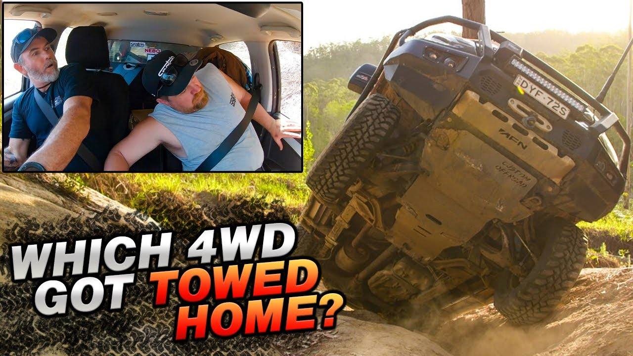 The Track That Damaged Every 4wd We Find Australia S Best Beach Campsite Glasshouse Mountains 4x4 Youtube