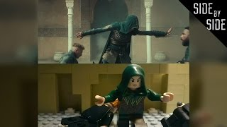 LEGO Assassin's Creed Movie Side by Side Trailer