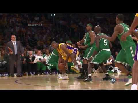 2010 NBA Finals - Lakers Celtics Game 1 Highlights - HD