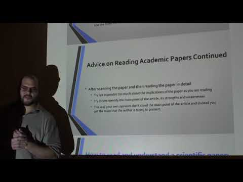 Papers We Love - How To Read an Academic/Scientific Paper