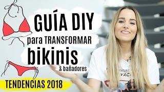 5 ideas DIY para transformar bikinis y bañadores | TENDENCIAS 2018