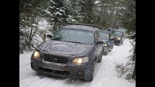 Subaru покатушки - горки диагонали и немного Drift