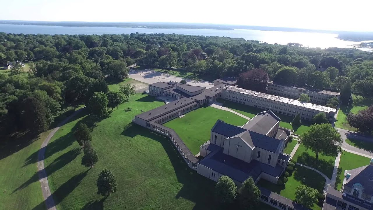 Rocky Point and Aldrich Mansion Drone Aerial Dji Inspire 1 ...