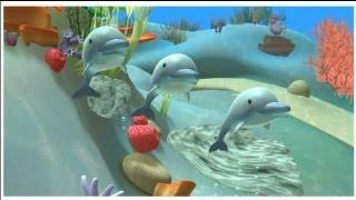 Alex - El Delfín - dibujos educativos sobre animales del mar