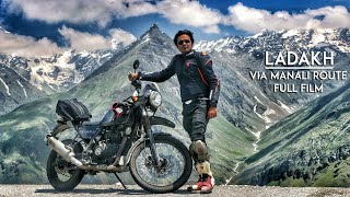Ladakh via Manali on Royal Enfield Himalayan Odyssey 2017  | Short Film | RWR