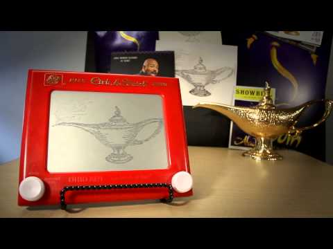 Etch A Sketch Art | Disney On Broadway