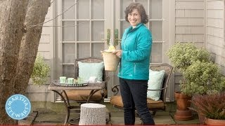 Learn & Do Creating An Outdoor Breakfast Nook - Home How-to Series - Martha Stewart