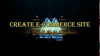 Erstellen Sie E-Commerce-Website-Tutorial : P-16-Erstellen Startseite Produkte Dynamische