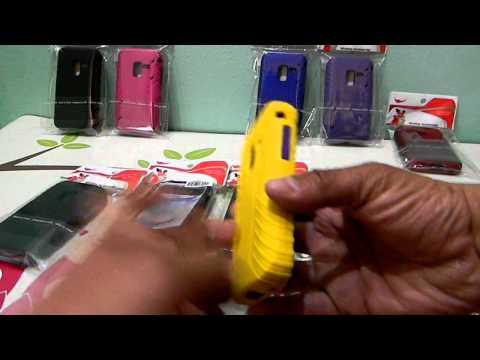 SAMSUNG ATTAIN 4G KICKSTAND AND 2IN1 HYBRID CASE CONQUER D600