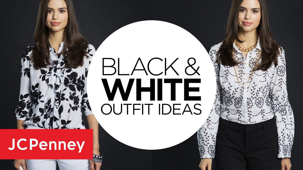 1fbc70efd2 Black and White Outfit Ideas  Day to Night Monochrome Lookbook ...