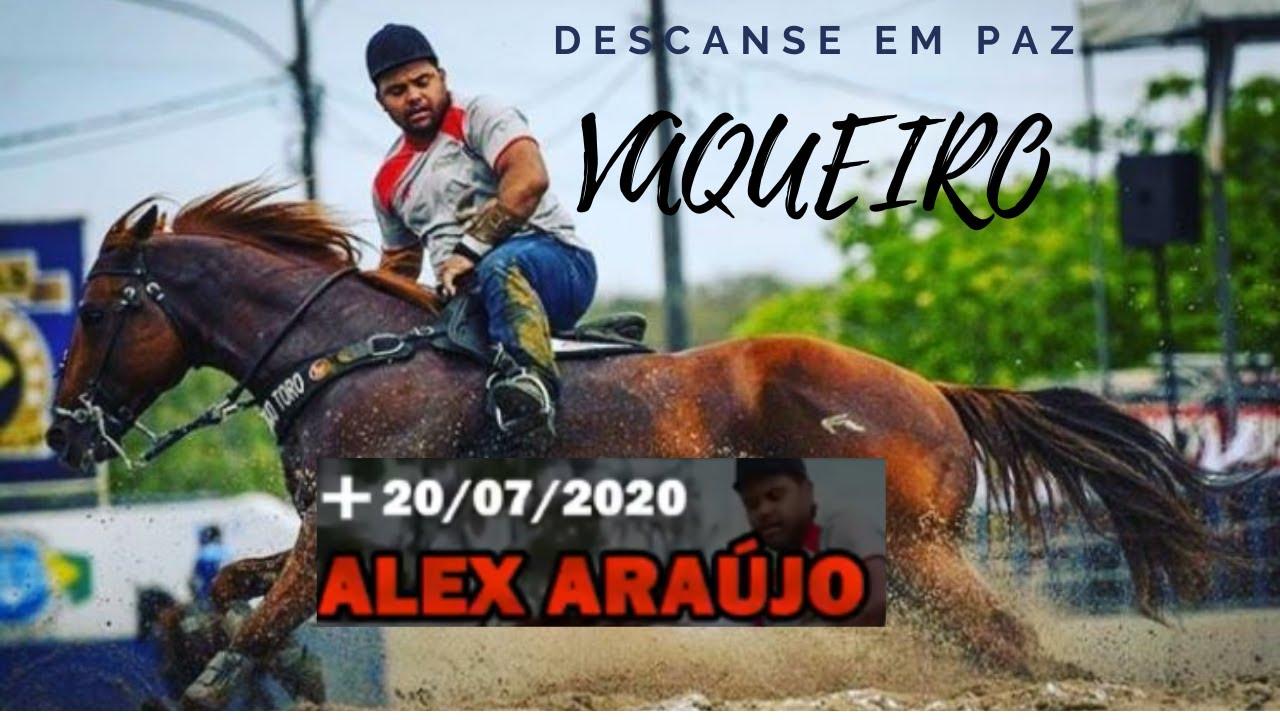 O Adeus ao Vaqueiro Canhotinha de Ouro || Alex Araújo