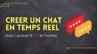 Miniature catégorie - Créer un Chat en temps réel avec Laravel !
